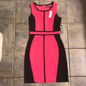 NY&Co. Color Block Pencil Dress NWT